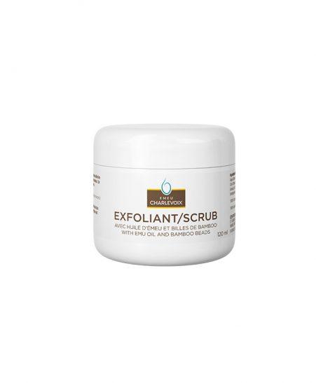 Exfoliant huile d'émeu